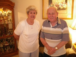 Lura and Wendell Brockett, May 2008