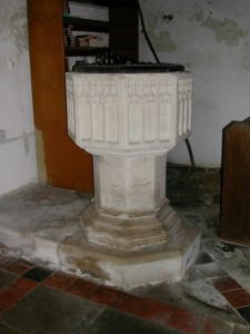 Baptismal Font--St. Edith's Church