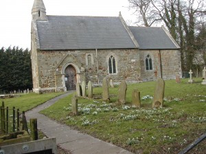 St. Ediths Church and graveyard